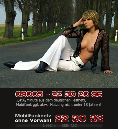 Telefonsex mit reifen Frauen ab 30 Jahren