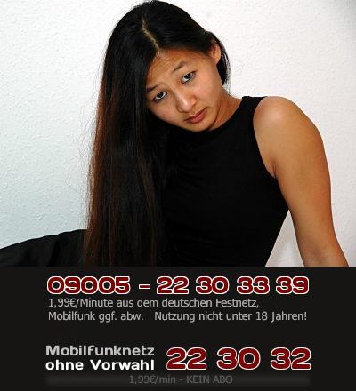 Telefonsex mit schimpfender Asiatin