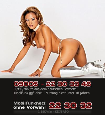 Eine exotische Asiatin wartet auf Dich beim Telefonsex