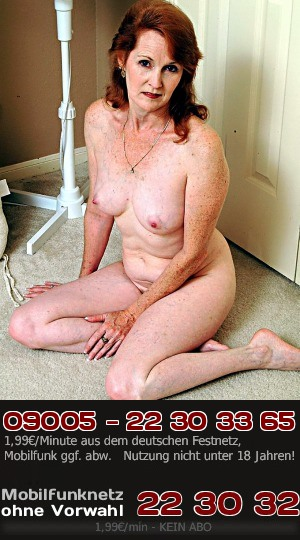 Telefonsex mit geiler Lady ab 70