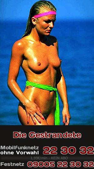 Telefonsex über das Glück im Unglück: Auf einer einsamen Insel mit einer Schönheit gestrandet.