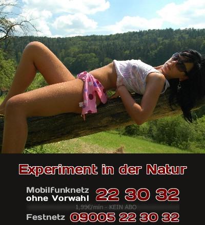 Lasse Dich nicht von Bildern oder Texten irritieren, denn hier geht es um ein Experiment mit Deiner Lust. Vielleicht bist Du geil auf Sex in der freien Natur?