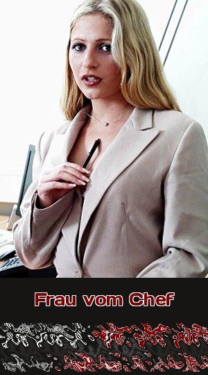Sie ist die Frau vom Chef und als Chefin verlangt sie Telefonsex von Dir.
