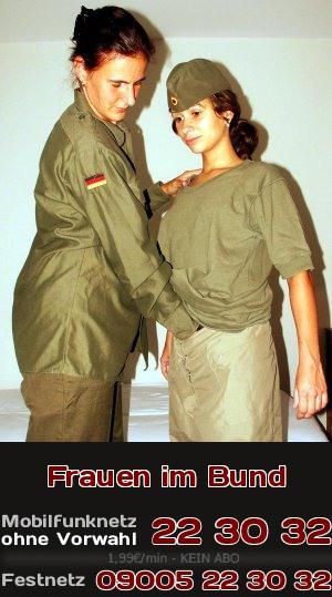 Die Luegenpresse kritisiert bei der Bundeswehr die Frauen. Zu unrecht, wie Du beim Telefonsex erleben kannst.