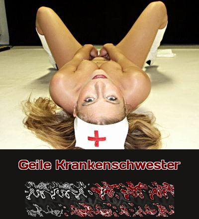 Eine geile Krankenschwester tut einfach alles für einen guten Fick