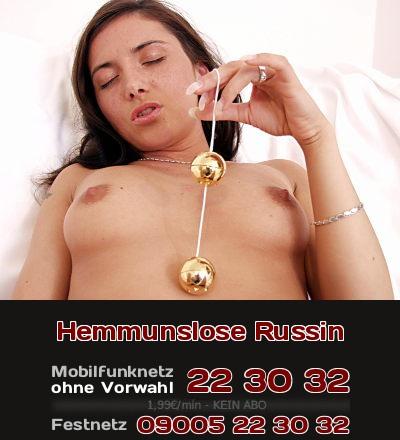 Telefonsex mit hemmungsloser Russin