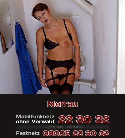 Telefonsex mit Fantasie: Die Putzfrau am Rasthof ist auch Klofrau und Nutte der Trucker.
