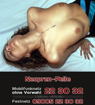 Telefonsex mit Fetisch: Sie empfindet ein erotisches Verlangen, wenn die Taucherin sich aus der Neopren-Pelle pellt.