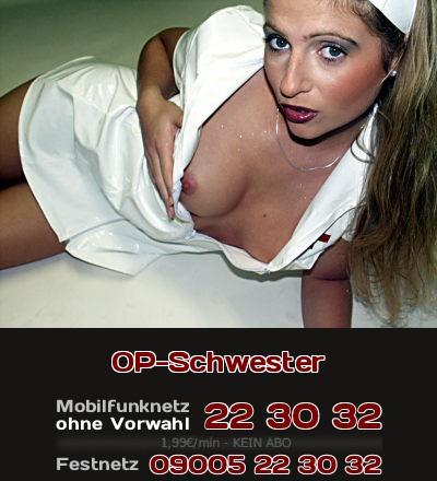 Beim Karneval wie auch auf einer Fetisch-Party bin ich gern im Outfit einer Krankenschwester. Natürlich in Latex! Telefonsex für Fetischisten, die auf Latex, Krankenschwestern oder Karneval stehen.