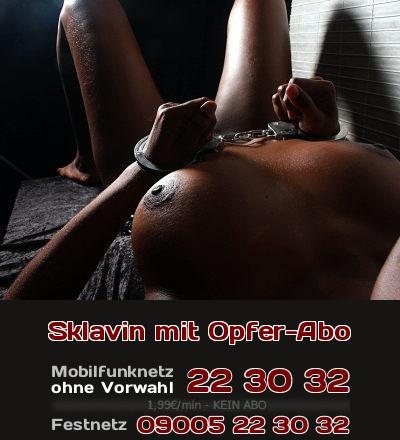 Seit 2012 hat die Sex-Sklavin ein Opfer-Abo beim Telefonsex