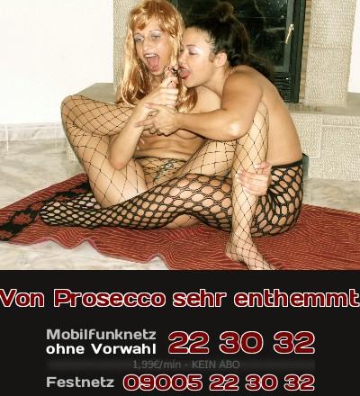 Der Prosecco hat zwei angetrunkene Partygirls enthemmt und richtig geil auf Sex gemacht, so dass sie sich gegenseitig selbst anturnen.