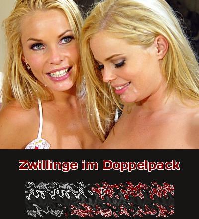 Geile Girls im Doppelpack, weil Zwillinge eben alles zu zweit machen