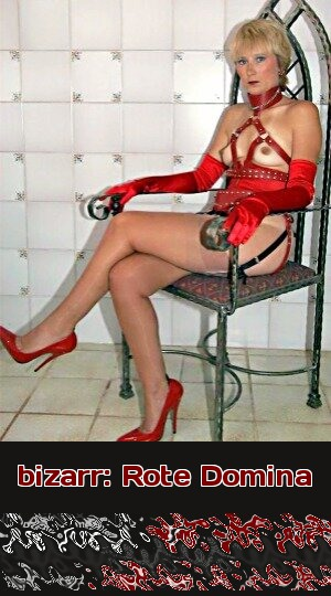 Beim Telefonsex bizarr: Bei dieser Domina sieht man rot!